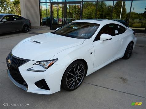lexus coupe white 2016 ultra white lexus rc f coupe 115720829 photo 3