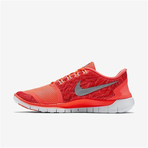 womens nike free 5 0 print running shoes nike womens free 5 0 print running shoes hyper orange