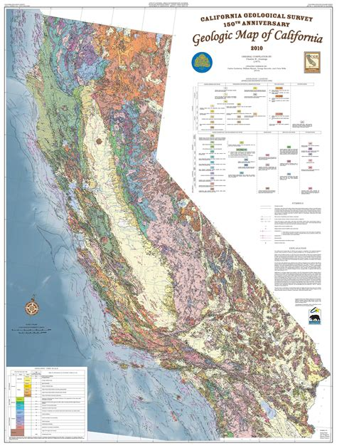 cgs history 2010 geologic map of california