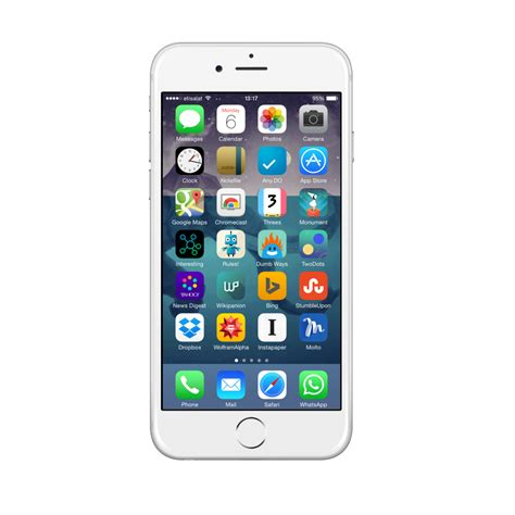 Swarosky Transparan Iphone 6 apple iphone 6s 32gb silver total mobile