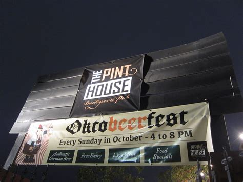 pint house the pint house oktobeerfest