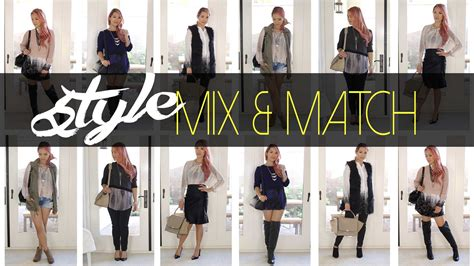 Mix Match by Fall Mix Match Styles Dress It Yourself Le