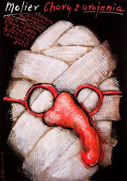 New By Galery Chory theater poster the hypochondriac gorowski mieczyslaw