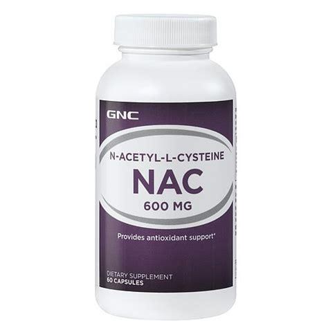 n acetyl creatine gnc n acetyl l cysteine nac 600 mg capsules 60 ct jet