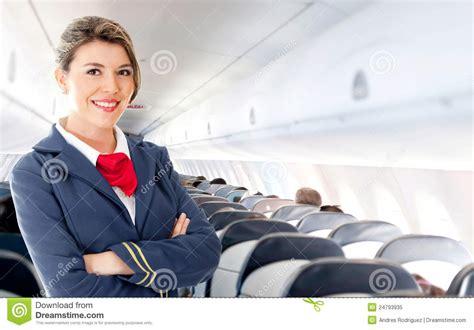 air hostess stock image image  aircraft beautiful