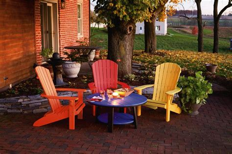 Amish Polywood Outdoor Furniture by Polywood Outdoor Patio Furniture Set Dutchcrafters Furniture