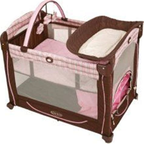 Pink And Brown Graco Pack N Play With Changing Table Graco Pack N Play Brown And Pink For Sale