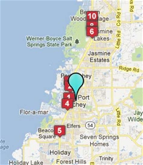 where is new port richey florida on florida map new port richey fl hotels motels see all discounts