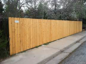 wood privacy fences harrison fence