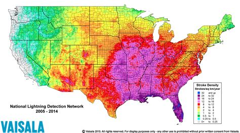 us weather lightning map severe weather awareness week lightning
