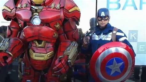 avengers cosplay iron man captain america