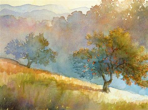 Landscape Artists Watercolor 25 Best Ideas About Watercolor Landscape Paintings On