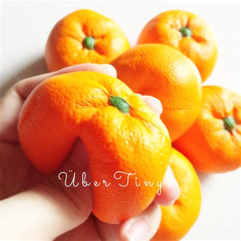 Squishy Licensed Kawaii Mangosteen Fruit Original orange fruit squishy 183 uber tiny 183 store powered by