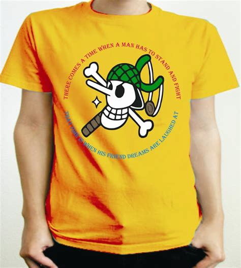 Kaos One Luffy Chooper kaos one
