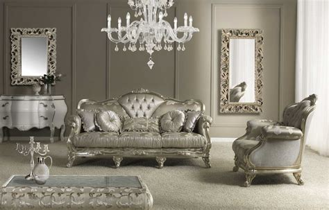 Napoleone Italian Sofa Set Luxury Sofa Set Made In Italy Italian Living Room Sets