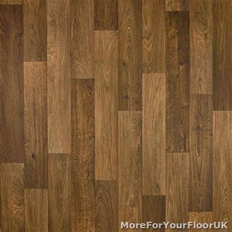 lino wood flooring 3 8mm thick vinyl flooring realistic brown wood plank effect lino kitchen cheap ebay