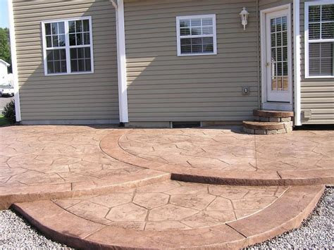simple concrete patio designs looking simple concrete patio design ideas patio