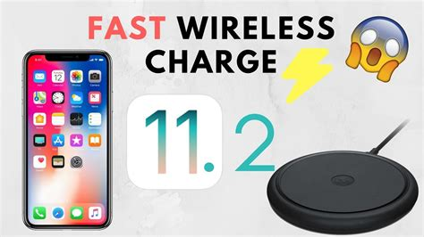 ios  brings fast wireless charging  iphone  iphone