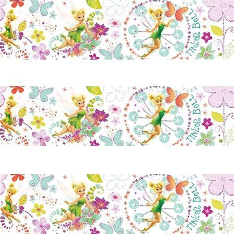 disney wallpaper border uk disney tinkerbell fairytale self adhesive wallpaper border