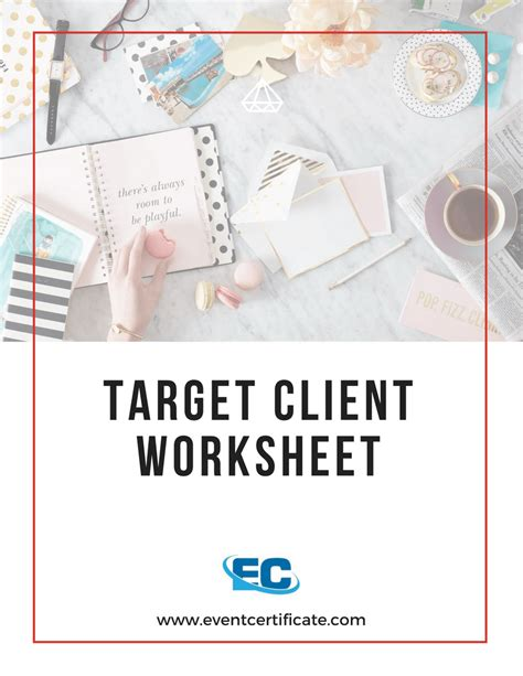 Ideal Client Profile Worksheet by Ideal Client Profile Worksheet The Large And Most
