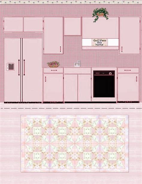 free printable dollhouse kitchen wallpaper 730 best images about craft ideas paper dolls houses on