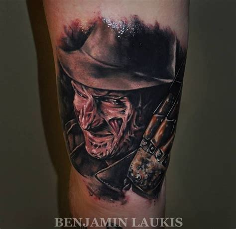 freddy krueger a nightmare on elm street tattoo by