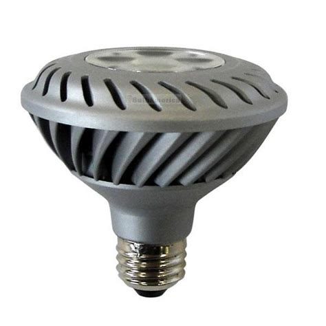120v Led Light Bulb Ge 12w 120v Par30 Fl35 2700k Silver Dimmable Led Light Bulb Bulbamerica