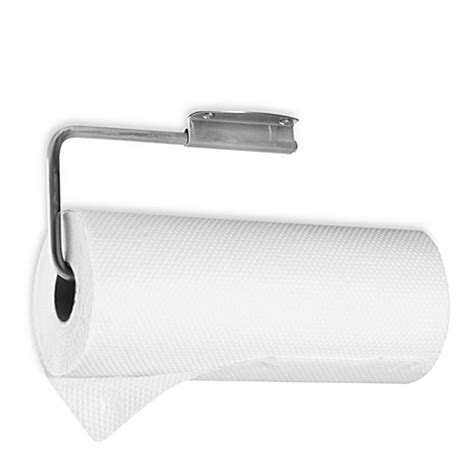 bed bath and beyond paper towel holder buy interdesign 174 forma 174 stainless steel paper towel holder from bed bath beyond