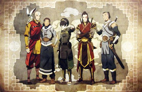 the avatar gaang avatar the last airbender photo 32155826