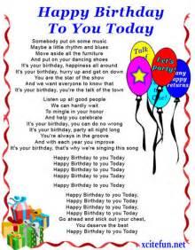 writing the perfect happy birthday poems birthday