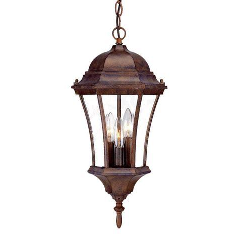 Outdoor Lantern Light Fixture Acclaim Lighting Brynmawr Collection Hanging Lantern 3 Light Outdoor Burled Walnut Light Fixture