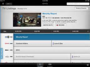 Infinity Comcast Tv Listings Turning Your Into A Remote And Tv Guide Gsm