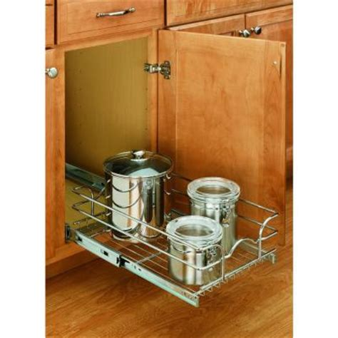 rev a shelf 7 in h x 9 in w x 18 in d pull out wire