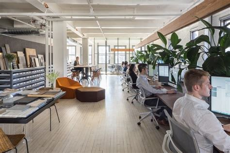 Nyc Office by Casual Upscale Workplaces Nyc Office