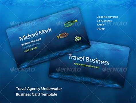 graphicriver travel agency business card design template travel agency business card design template graphicriver