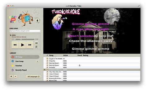 best karaoke software for mac top karaoke software for mac users