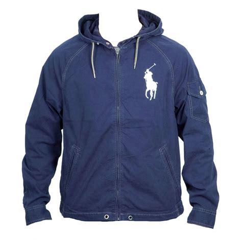 Jaket Parka Tipe A Polos Navy ralph polo jacket hooded windbreaker waimea navy