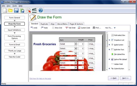 form design software freeware simfatic solutions
