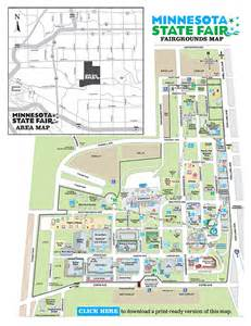 Map Of Mn State Fair by Minnesota State Fair Parking