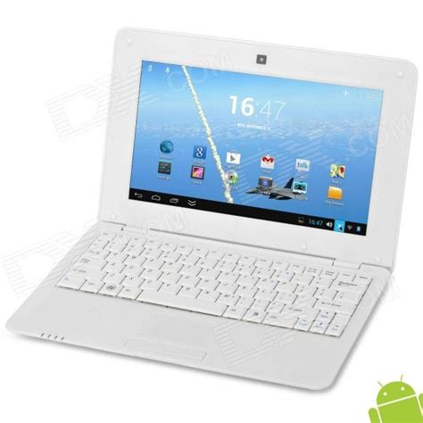 android netbook 712 10 quot android 4 2 netbook w rj45 wi fi hdmi white free shipping dealextreme