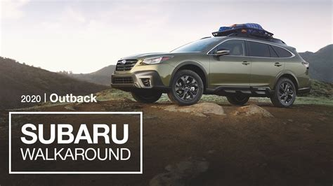 All New Subaru Outback 2020 by All New 2020 Subaru Outback New Model Walkaround