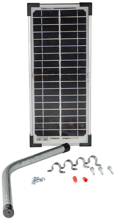 Gto Fm123 Gate Opener Solar Battery Charger Solar Garage Door Opener