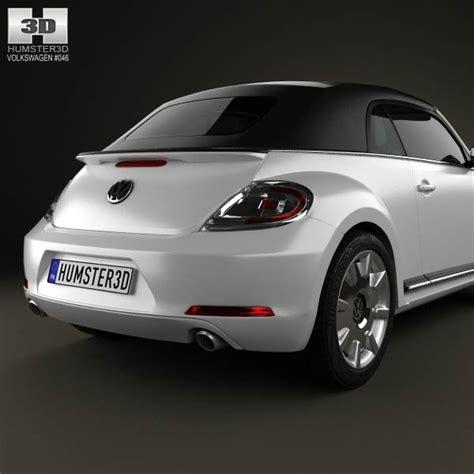 volkswagen models 2013 volkswagen beetle convertible 2013 3d model hum3d