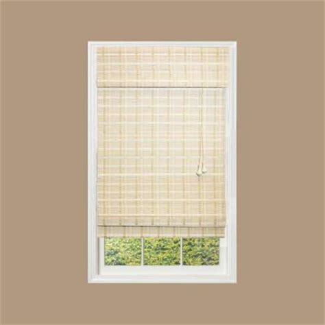 white textured l shade home decorators collection white washed reed weave bamboo
