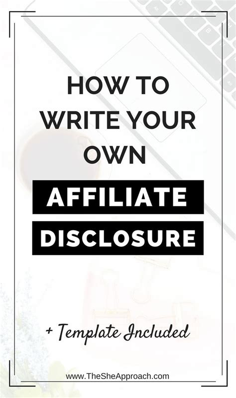 2187 Best Set Up A Blog Images On Pinterest Affiliate Marketing Make Money Blogging And Tips Affiliate Link Disclosure Template