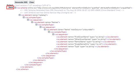 xml xsd tutorial exles excel xml schema parent child or list of list issue