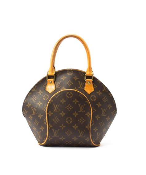 louis vuitton canvas ellipse pm bag  brown lyst