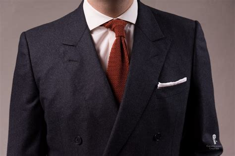knit tie with suit neckwear thrifty