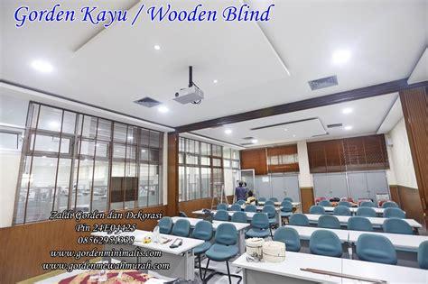Jual Tirai Krey Kayu Kaskus gorden kayu murah tirai kayu krey kayu wooden blind