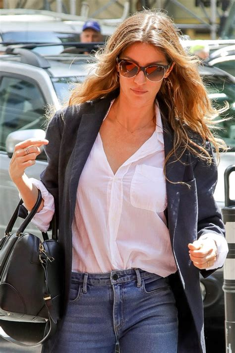 Theres Something About Gisele by Gisele Bundchen Out In New York Ahead Of The Met Gala